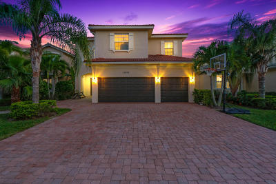 Palm Beach Gardens Single Family Home For Sale: 12205 Aviles Circle