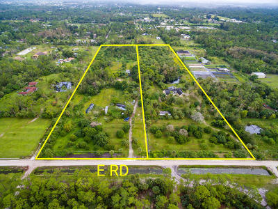 Loxahatchee Groves Single Family Home For Sale: 1472/1538 E Road