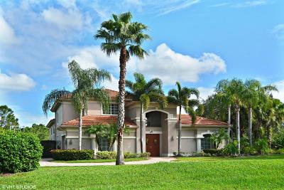 Port Saint Lucie Single Family Home For Sale: 9600 Enclave Place