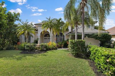 Palm Beach Gardens Single Family Home For Sale: 19 Windward Isle Isle(S)