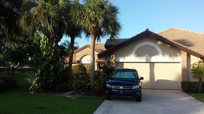 Boynton Beach Rental For Rent: 8129 Mimosa Place