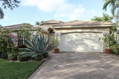 Lake Worth Single Family Home Contingent: 7893 Amethyst Lake Point