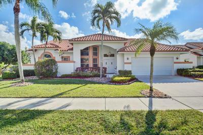 Boca Raton Single Family Home For Sale: 10750 Seacliff Circle