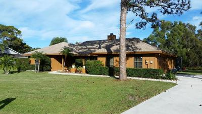 Jupiter Single Family Home For Sale: 19554 Trails End Terrace