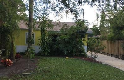 Delray Beach Single Family Home Contingent: 4880 Lincoln Road