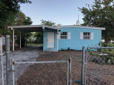 Lake Worth Single Family Home For Sale: 325 Plum Tree Dr