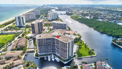Highland Beach Condo For Sale: 4740 S Ocean Boulevard #704