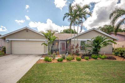 Boynton Beach Single Family Home For Sale: 838 NW 9 Way