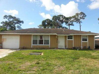 Delray Beach Single Family Home Contingent: 5456 Palm Ridge Boulevard