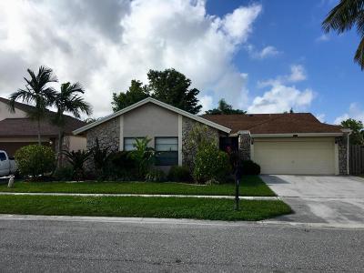 Boca Raton Single Family Home For Sale: 20991 Windemere Lane