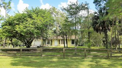 Loxahatchee Single Family Home Contingent: 16439 83rd Place