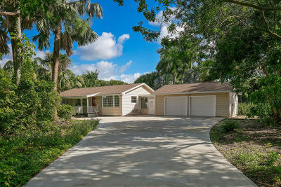 Jupiter Single Family Home Contingent: 16670 106th Terrace