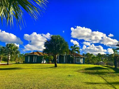 West Palm Beach Single Family Home For Sale: 11054 57th Road