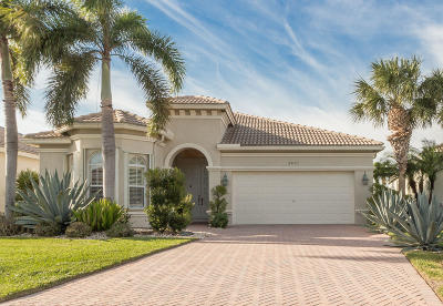 Boynton Beach Single Family Home For Sale: 6803 Southport Drive