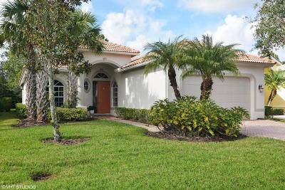 Port Saint Lucie Single Family Home For Sale: 7674 Greenbrier Circle