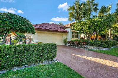 Boca Raton Single Family Home For Sale: 21699 Town Place Drive