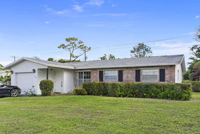 Lake Worth Single Family Home For Sale: 3188 Pinehurst Drive