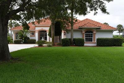 Port Saint Lucie Single Family Home For Sale: 2650 SW River Shore Drive