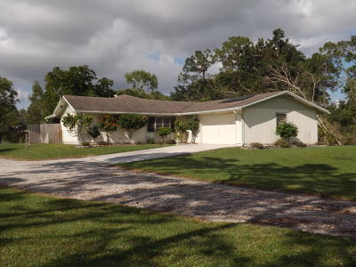 Royal Palm Beach Single Family Home For Sale: 4361 123rd Trail