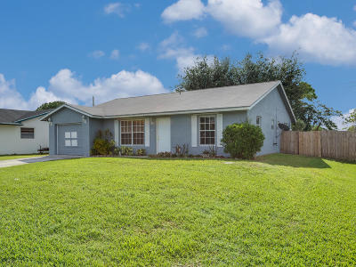 Lake Worth Single Family Home Contingent: 71 Springdale Road