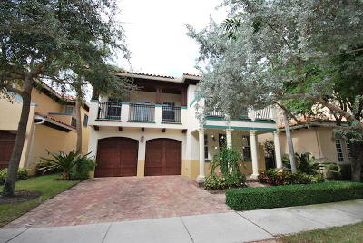 Delray Beach Single Family Home For Sale: 1612 Old Palm