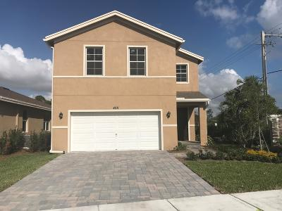 Lake Worth Single Family Home For Sale: 4011 Tomoka Drive