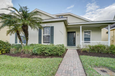 Port Saint Lucie Single Family Home Contingent: 10770 SW Waterway Lane