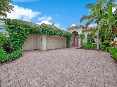 Palm Beach Gardens Single Family Home For Sale: 50 Laguna Terrace