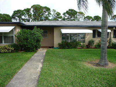 Delray Beach Single Family Home For Sale: 827 North Drive #B