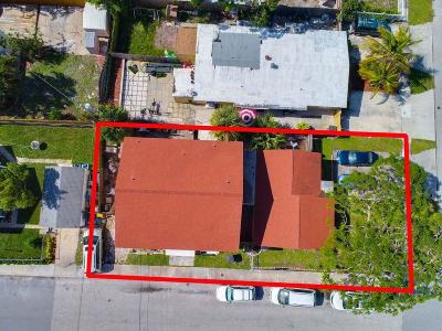 West Palm Beach Multi Family Home For Sale: 500 Franklin Road