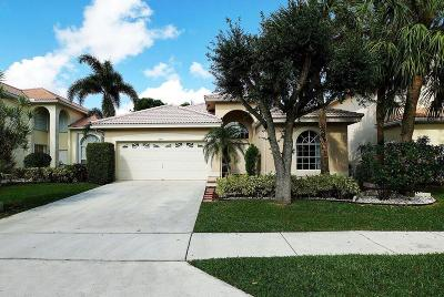 Boca Raton Single Family Home Contingent: 10911 Old Bridgeport Lane