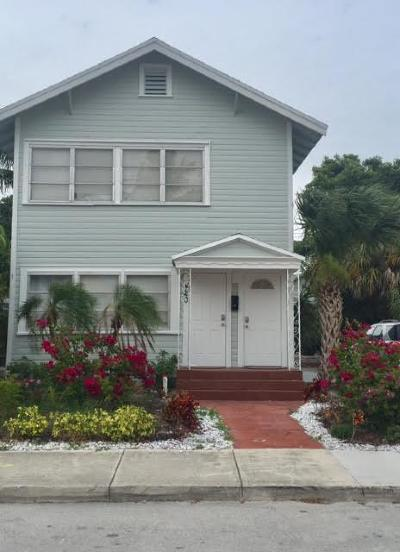 Lake Worth Single Family Home For Sale: 420 3rd Ave S S