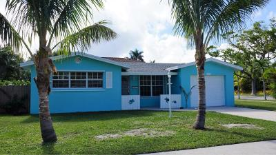 Lake Worth Single Family Home For Sale: 109 16th Avenue S