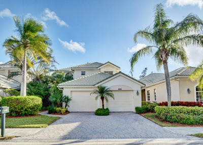 Palm Beach Gardens Single Family Home For Sale: 1206 General Pointe Trace