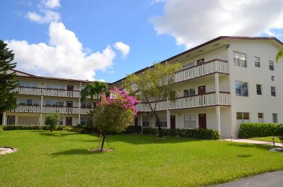 Boca Raton Condo For Sale: 111 Fanshaw C #111