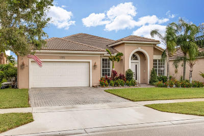 West Palm Beach Single Family Home For Sale: 1324 Stonehaven Estates Drive
