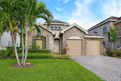 Wellington Single Family Home For Sale: 3444 Collonade Drive