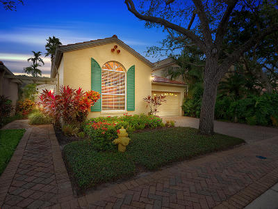 Palm Beach Gardens Single Family Home For Sale: 21 Via Del Corso