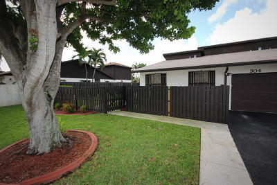 Delray Beach Single Family Home Contingent: 304 SW 27th Avenue