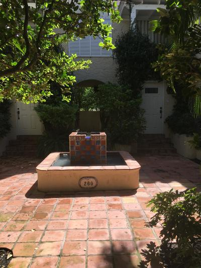 Palm Beach Condo For Sale: 260 Oleander Avenue #W-1