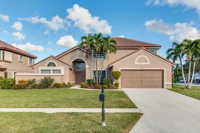 Boynton Beach Single Family Home For Sale: 8922 Jaspers Drive
