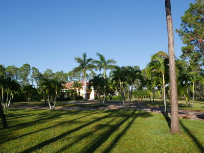 Palm Beach Gardens Single Family Home For Sale: 14840 Crazy Horse Lane