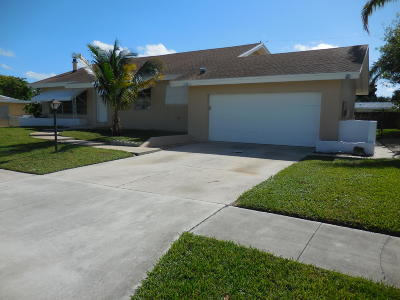Lake Worth Single Family Home Contingent: 1411 Lee Court