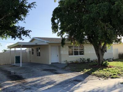 Boynton Beach Single Family Home For Sale: 350 NW 16th Court