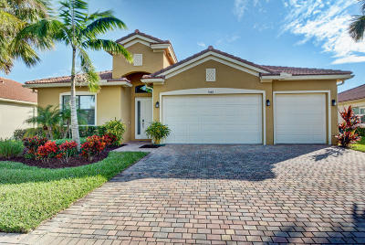 Delray Beach Single Family Home For Sale: 9440 Isles Cay Drive