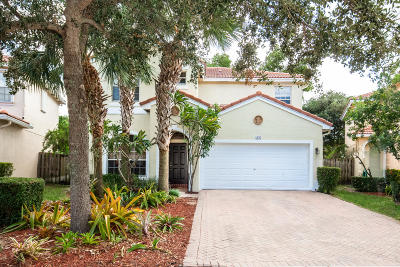 Palm Beach Gardens Single Family Home For Sale: 4576 Thornwood Circle
