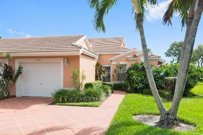 Boynton Beach Single Family Home For Sale: 5614 Royal Lake Circle