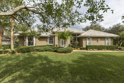 Palm City Single Family Home For Sale: 5371 SW Coral Tree Lane