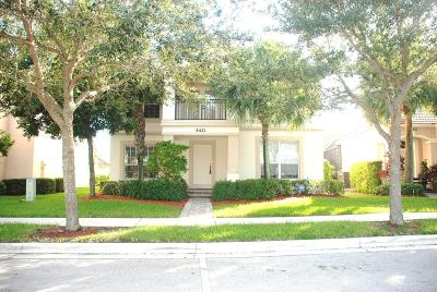 Palm Beach Gardens Single Family Home For Sale: 8421 Alister Boulevard W