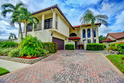 Boca Raton Single Family Home For Sale: 22531 Esplanada Circle W